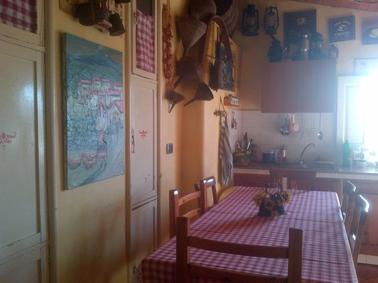 Bed & Breakfast San Placido Inn : cucina