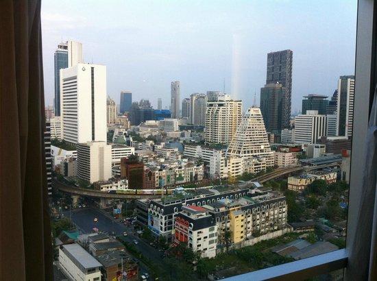 Pullman Bangkok Hotel G: Aussicht vom Zimmer