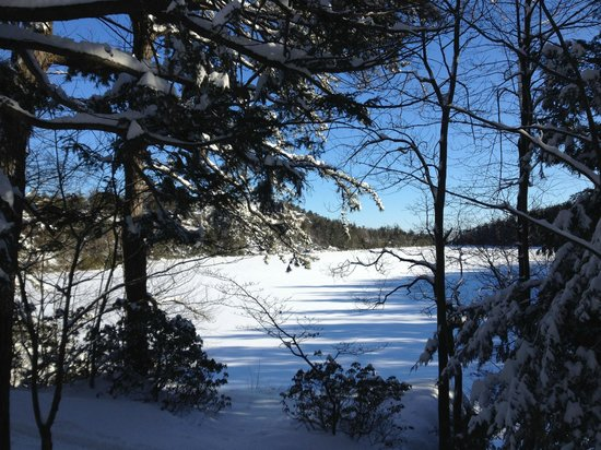 Minnewaska State Park Preserve: a winter day at Minnewaska