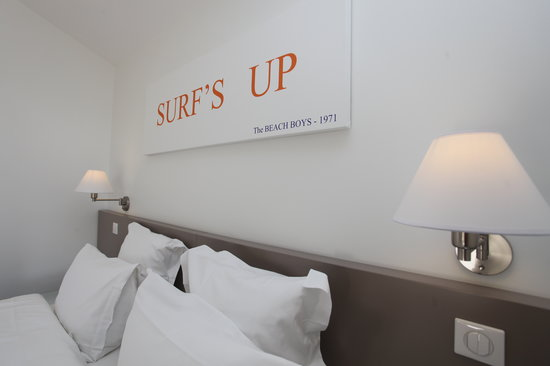 Hotel 202: chambre surf