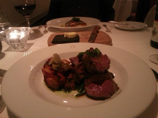 Cellar Restaurant: Lamb main