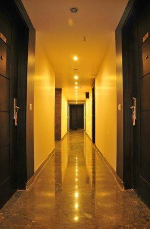 Hotel Elegance : Corridor