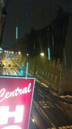 Central Hotel Tiepolo: dalla finestra