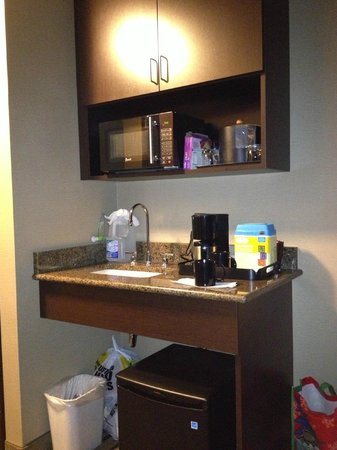 Soaring Eagle Waterpark and Hotel: Room kitchen