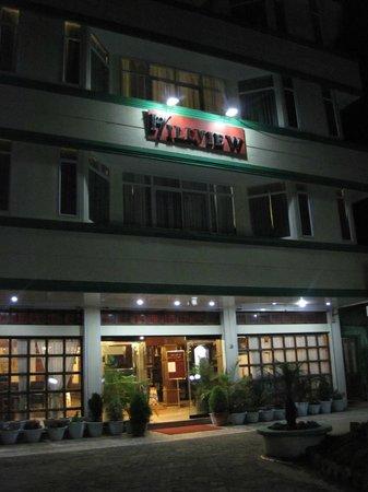 Hillview Munnar: façade de l'hôtel