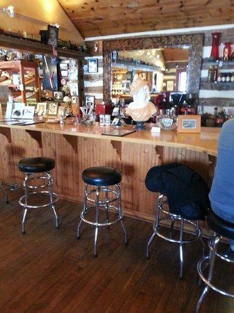Door County Bakery : Coffee counter.