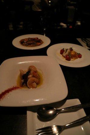 SLS Hotel, A Luxury Collection Hotel, Beverly Hills: 1Fレストランにて。タパスなお店