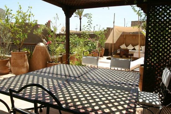 Riad Massiba: La Terrasse