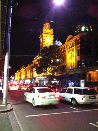 Rendezvous Hotel Melbourne: Flinders Street Station