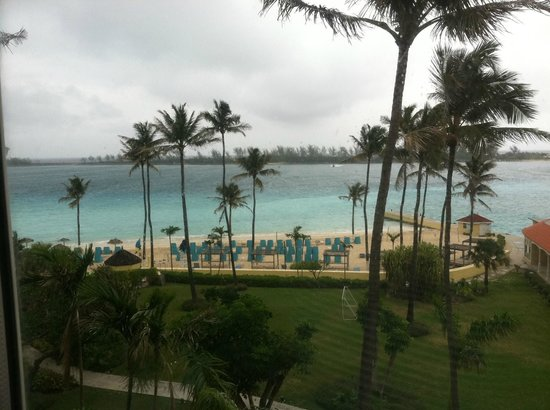 British Colonial Hilton Nassau: View from our room