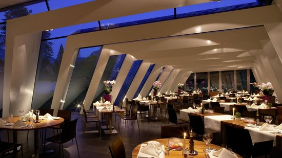 Hotel Hof Weissbad: Restaurant Flickflauder