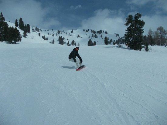 Obertauern Ski Resort: The slope