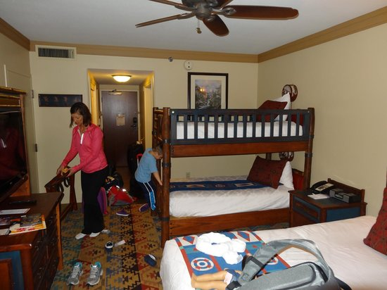 Woods View Bunk Bed Picture Of Disney S Wilderness Lodge Orlando
