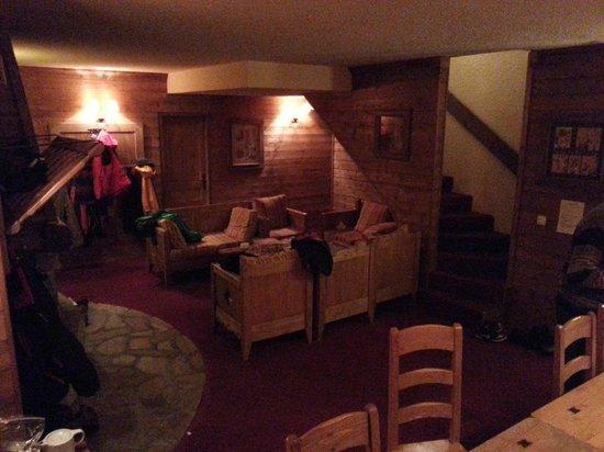 Chalet Panda : Lounge area