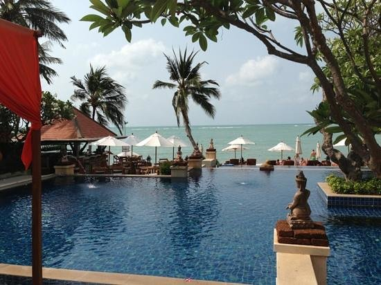 Renaissance Koh Samui Resort & Spa: chilling pool area .. NICE