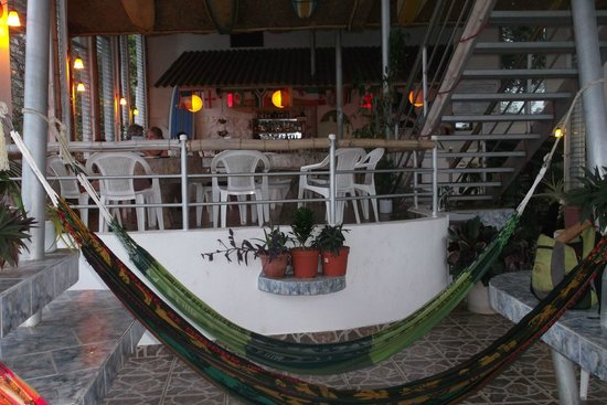 Hotel Boca Brava: restaurant and bar, all in the open