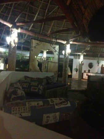 Jacaranda Beach Resort: Reception