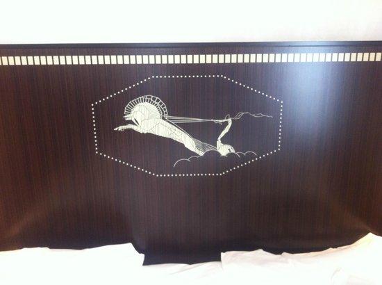 Hotel du Collectionneur: Tête de lit Art Déco