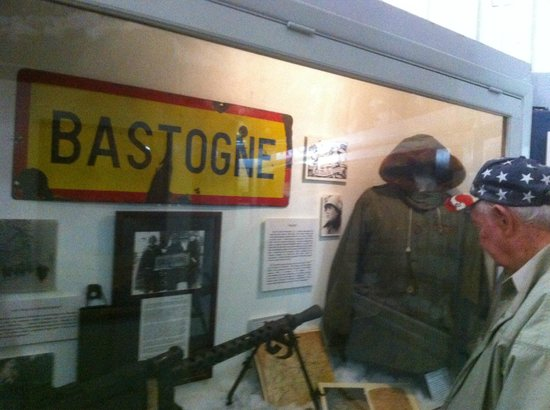 Fort Campbell, Кентукки: Bastogne section of the Museum