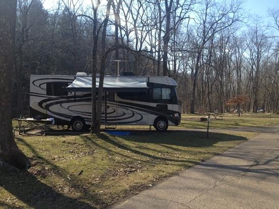 Mohican State Park: campsite