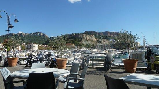 Hotel Le Golfe: Vue de la terrasse