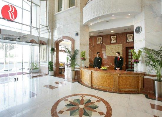 Ramada Beach Hotel Ajman: Hotel Reception