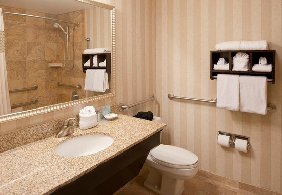Hampton Inn Nashville / Vanderbilt: Guest Bathroom