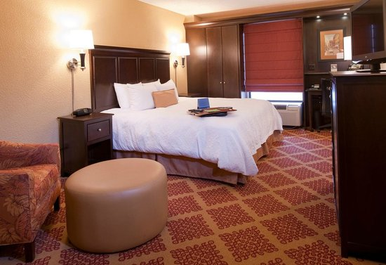 Hampton Inn Nashville / Vanderbilt: King Bed with Chair