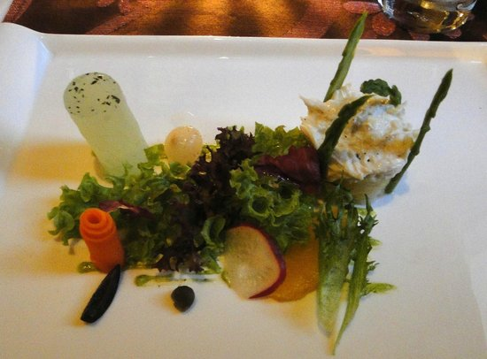 Suffolk House: One of the many starters