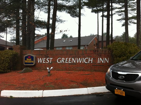 Best Western West Greenwich Inn: Entrada