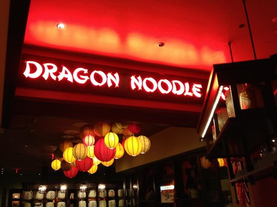 Dragon Noodle Co. : Pleasant atmosphere
