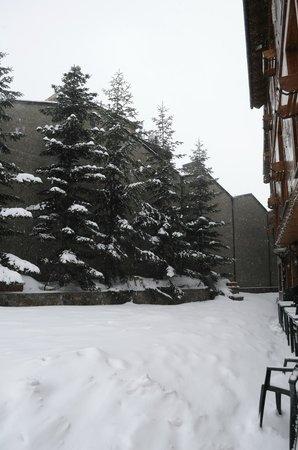 Hotel Soldeu Maistre: Enterance
