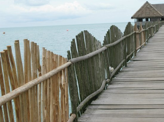 Telunas Beach Resort: The sea