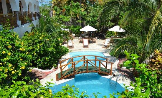Hotel Silberstein: View of our Hotel/Garden