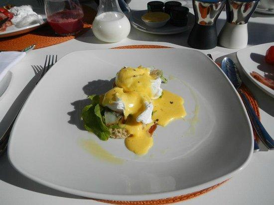 Clouds Wine & Guest Estate: Breakfast