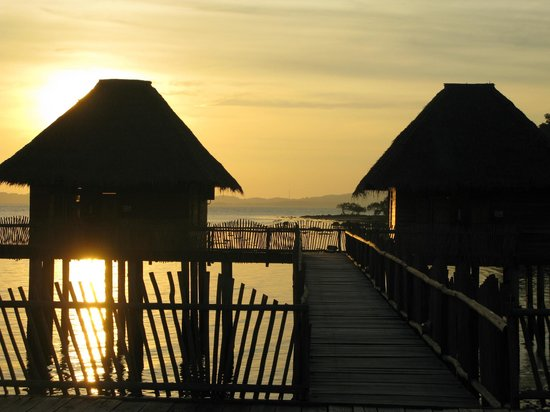 Telunas Resorts - Telunas Beach Resort: Amazing sunset