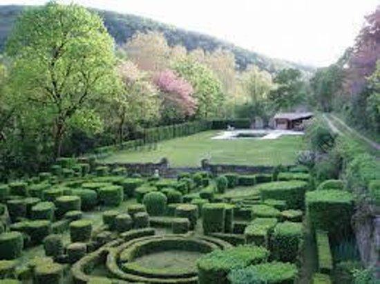 Château de la Vère : La jardin à la française