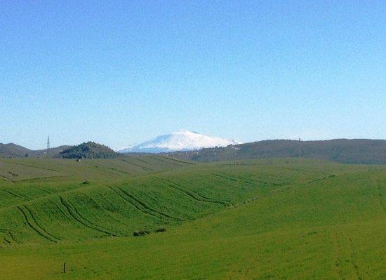 Hotel Pomara : Vista dell'Etna