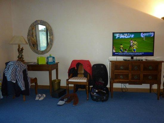 Relais de Margaux: Vue de la chambre