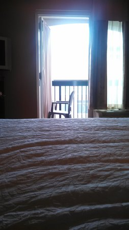 Hampton Inn & Suites Greenville - Downtown - Riverplace: view from the bed