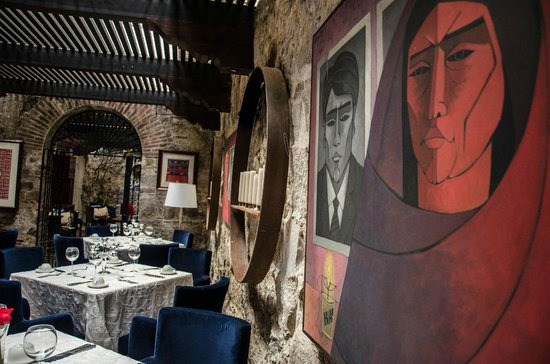 Mil Flores Luxury Design Hotel: Restaurante Jardin Azul