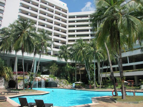 Pool With Waterfall Picture Of Hotel Equatorial Penang Bayan Lepas Tripadvisor