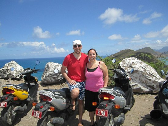 Ride St.Kitts : Amazing view from the top of the island