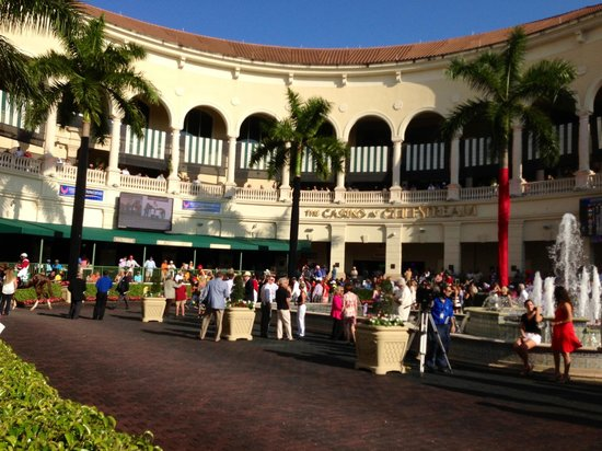 Gulfstream Park: What a way, to spend the day!