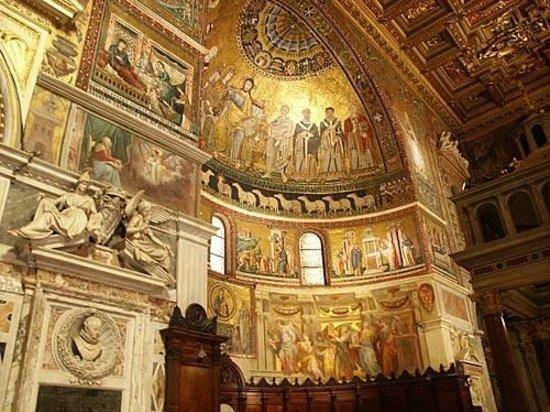 Residenza Santa Maria : Art in Trastevere