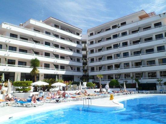 Hotel-Apartamentos Andorra: Andorra pool