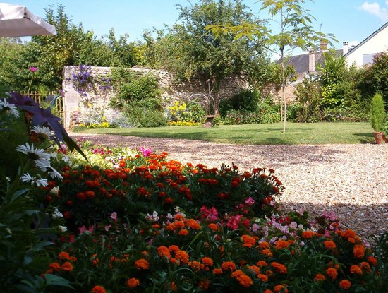 Villiers-sur-Loir, ฝรั่งเศส: le jardin
