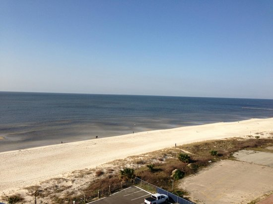 South Beach Biloxi Hotel & Suites: View from our room