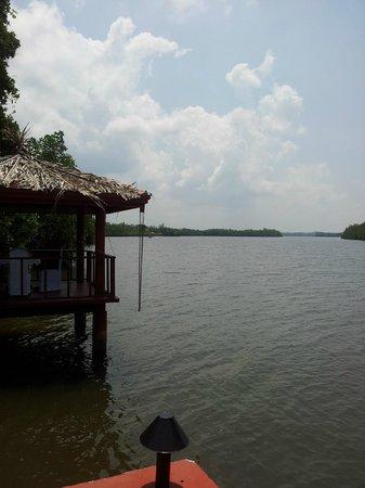 Dalmanuta Gardens - Ayurvedic Resort & Restaurant: river view