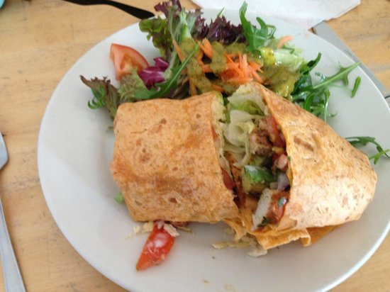 Godrevy Cafe: Mexican Wrap